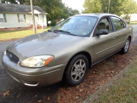 2005 Ford Taurus for sale at Liberty Motors in Chesapeake VA