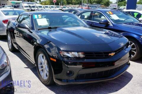 2015 Chevrolet Camaro for sale at Michael's Auto Sales Corp in Hollywood FL