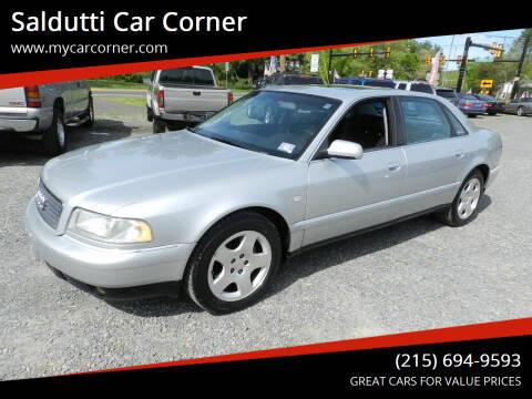 2001 Audi A8 L for sale at Saldutti Car Corner in Gilbertsville PA