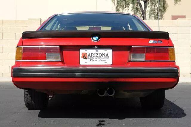 1988 BMW M6 16
