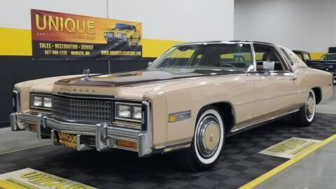 1978 Cadillac Eldorado for sale at UNIQUE SPECIALTY & CLASSICS in Mankato MN