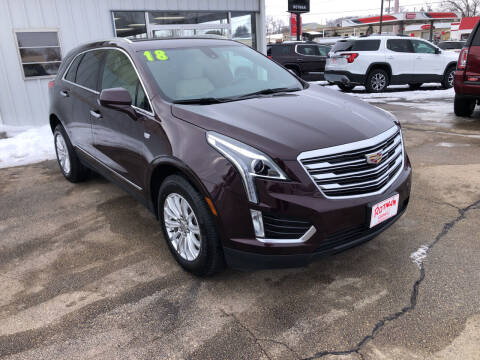 2018 Cadillac XT5 for sale at ROTMAN MOTOR CO in Maquoketa IA