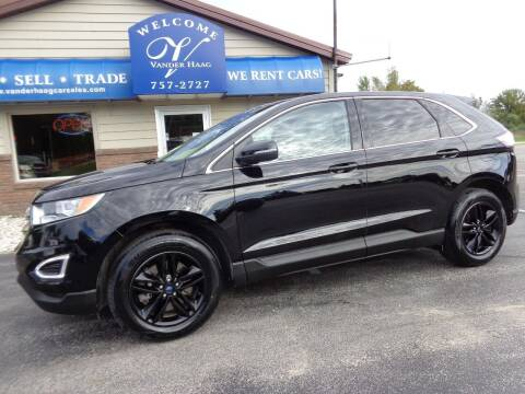 2016 Ford Edge for sale at VanderHaag Car Sales LLC in Scottville MI