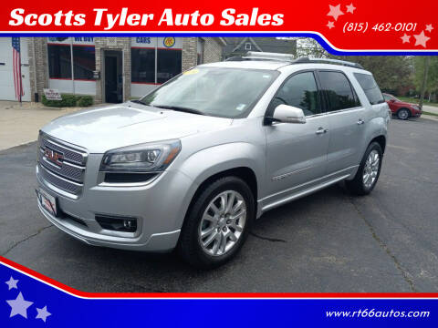 2016 GMC Acadia for sale at Scotts Tyler Auto Sales in Wilmington IL
