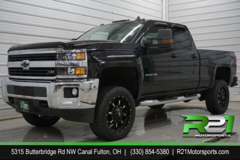 2017 Chevrolet Silverado 2500HD for sale at Route 21 Auto Sales in Canal Fulton OH