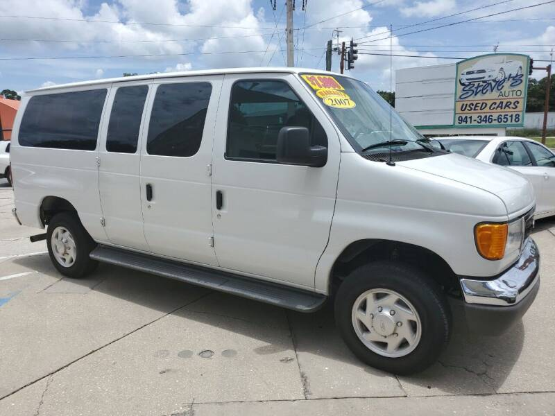 2007 Ford E-Series Wagon for sale at Steve's Auto Sales in Sarasota FL
