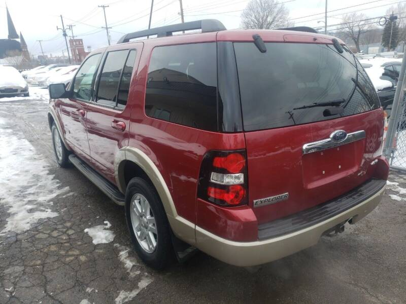 2008 Ford Explorer 4x4 Eddie Bauer 4dr SUV (V6) - Youngstown OH