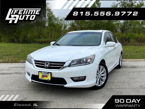 2013 Honda Accord for sale at Lifetime Auto in Elwood IL