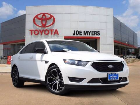 2016 Ford Taurus for sale at Joe Myers Toyota PreOwned in Houston TX
