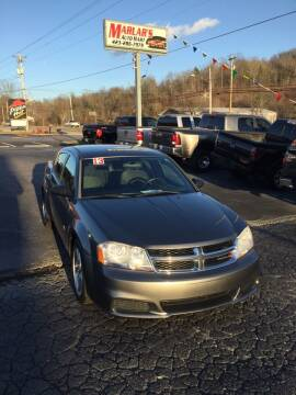 2013 Dodge Avenger for sale at MARLAR AUTO MART SOUTH in Oneida TN