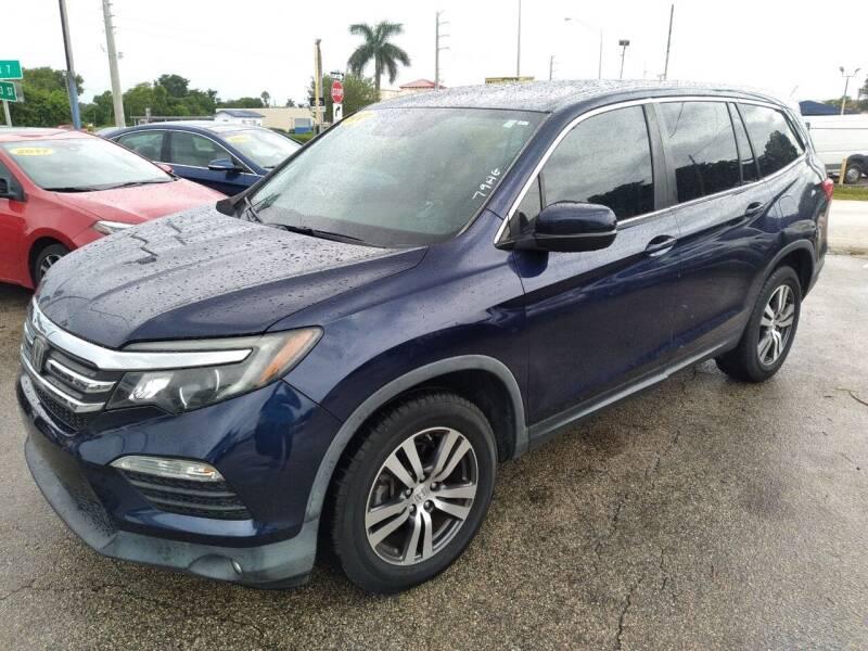 2017 Honda Pilot for sale at P S AUTO ENTERPRISES INC in Miramar FL