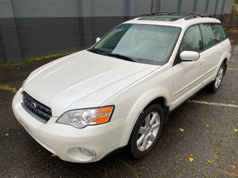 2007 Subaru Outback for sale at APX Auto Brokers in Lynnwood WA