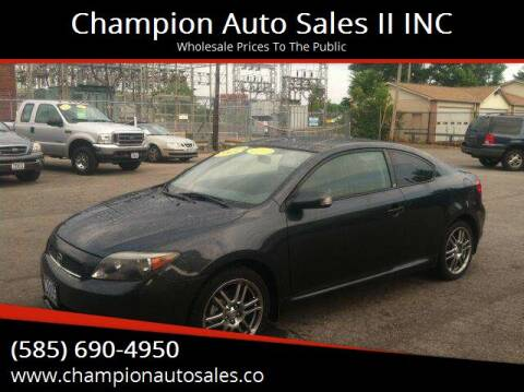 2005 Scion tC for sale at Champion Auto Sales II INC in Rochester NY