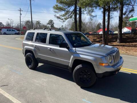 2015 Jeep Patriot for sale at THE AUTO FINDERS in Durham NC