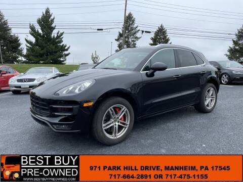 2015 Porsche Macan for sale at Best Buy Pre-Owned in Manheim PA