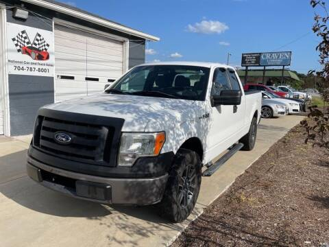2012 Ford F-150 for sale at NATIONAL CAR AND TRUCK SALES LLC - National Car and Truck Sales in Concord NC
