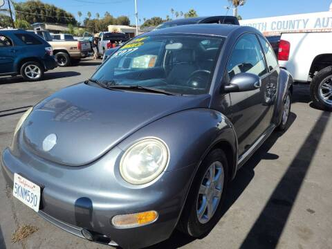 2004 Volkswagen New Beetle for sale at ANYTIME 2BUY AUTO LLC in Oceanside CA