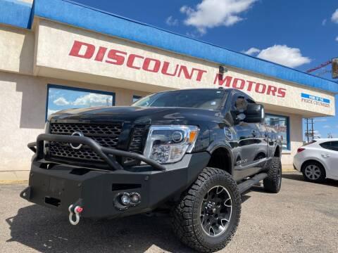 2017 Nissan Titan XD for sale at Discount Motors in Pueblo CO
