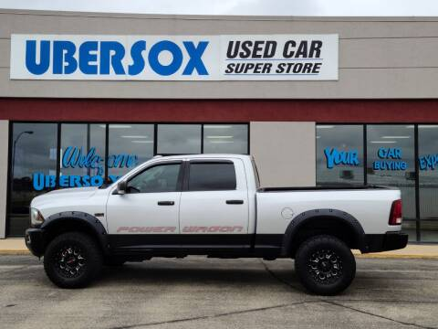 2016 RAM Ram Pickup 2500 for sale at Ubersox Used Car Superstore in Monroe WI