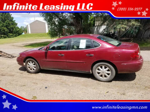 2005 Buick LaCrosse for sale at Infinite Leasing LLC in Lastrup MN
