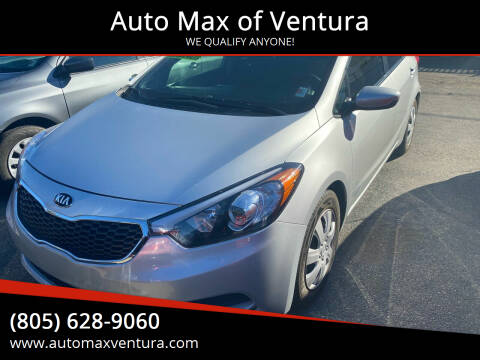 2015 Kia Forte for sale at Auto Max of Ventura in Ventura CA