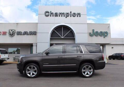 2019 GMC Yukon for sale at Champion Chevrolet in Athens AL