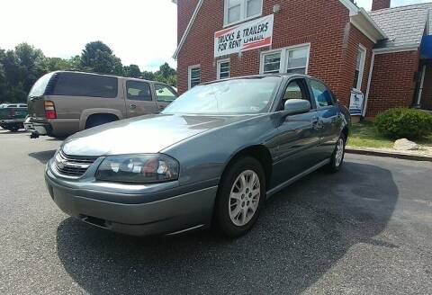 2005 Chevrolet Impala for sale at Regional Auto Sales in Madison Heights VA