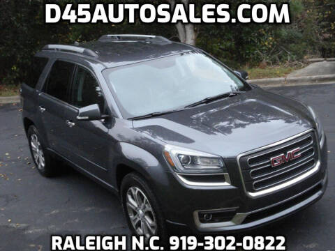 2014 GMC Acadia for sale at D45 Auto Brokers in Raleigh NC