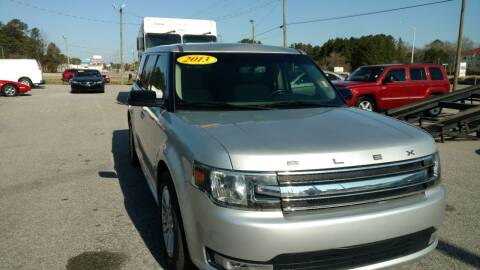 2013 Ford Flex for sale at Kelly & Kelly Supermarket of Cars in Fayetteville NC