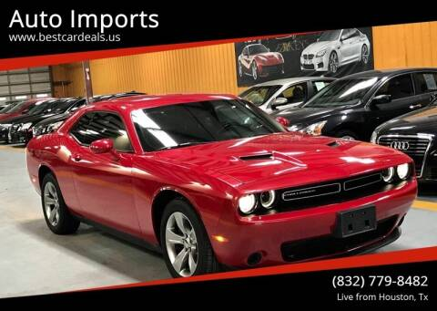 2015 Dodge Challenger for sale at Auto Imports in Houston TX