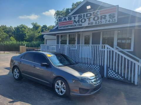 2011 Ford Fusion for sale at EASTSIDE MOTORS in Tulsa OK
