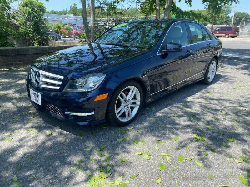 2012 Mercedes-Benz C-Class for sale at ANDONI AUTO SALES in Worcester MA