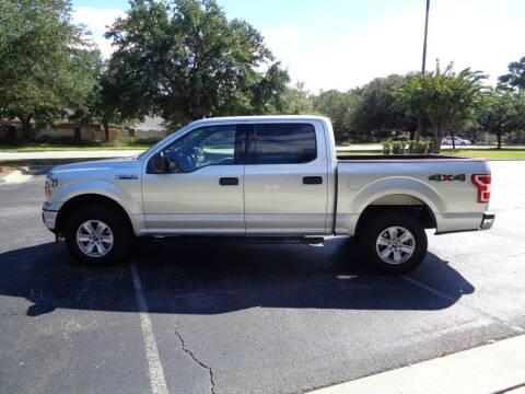 2019 Ford F-150 for sale at BALKCUM AUTO INC in Wilmington NC