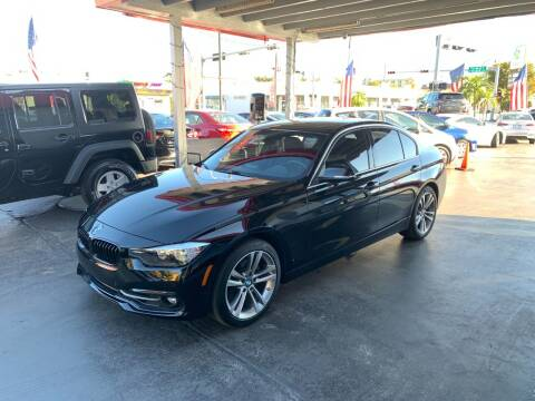 2017 BMW 3 Series for sale at American Auto Sales in Hialeah FL