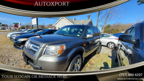 2007 Honda Pilot for sale at Autoxport in Newport News VA