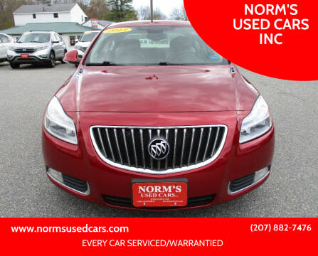 2013 Buick Regal for sale at NORM'S USED CARS INC in Wiscasset ME