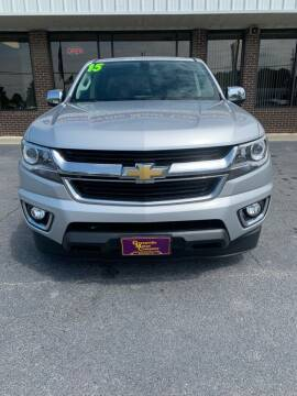 2015 Chevrolet Colorado for sale at East Carolina Auto Exchange in Greenville NC