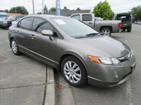 2008 Honda Civic for sale at Car Link Auto Sales LLC in Marysville WA