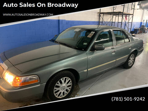2005 Mercury Grand Marquis for sale at Auto Sales on Broadway in Norwood MA