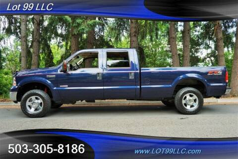 2006 Ford F-250 Super Duty for sale at LOT 99 LLC in Milwaukie OR