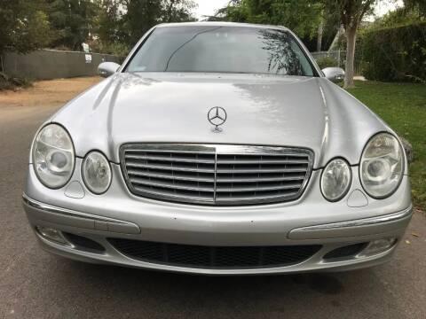 2003 Mercedes-Benz E-Class for sale at Car Lanes LA in Glendale CA