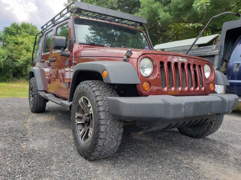 2008 Jeep Wrangler Unlimited for sale at Jacob's Auto Sales Inc in West Bridgewater MA