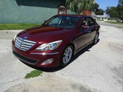 2012 Hyundai Genesis for sale at S & T Motors in Hernando FL