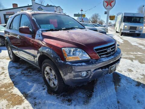 2008 Kia Sorento for sale at Nelson's Straightline Auto in Independence WI