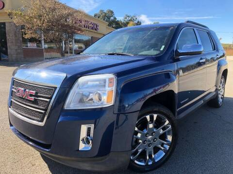 2010 GMC Terrain for sale at Gwinnett Luxury Motors in Buford GA