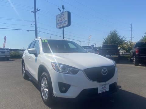 2015 Mazda CX-5 for sale at S&S Best Auto Sales LLC in Auburn WA