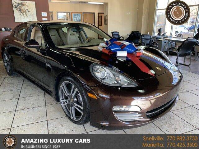 2012 Porsche Panamera for sale at Amazing Luxury Cars in Snellville GA