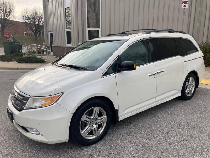 2013 Honda Odyssey for sale at AMERICAR INC in Laurel MD