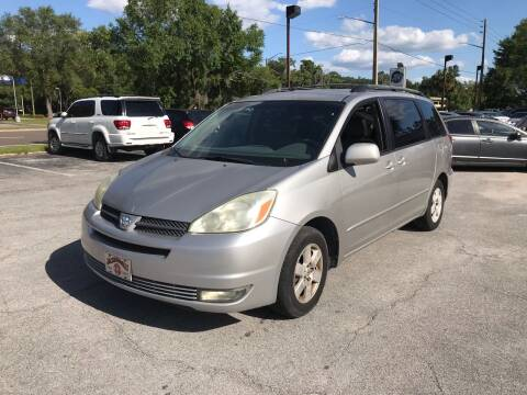 2004 Toyota Sienna for sale at Popular Imports Auto Sales in Gainesville FL