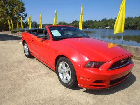 2014 Ford Mustang for sale at Lake Carroll Auto Sales in Carrollton GA